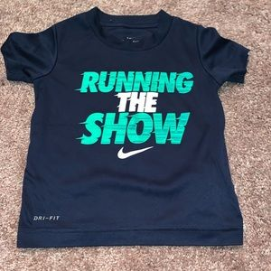 Nike Dri Fit Run The Show TShirt